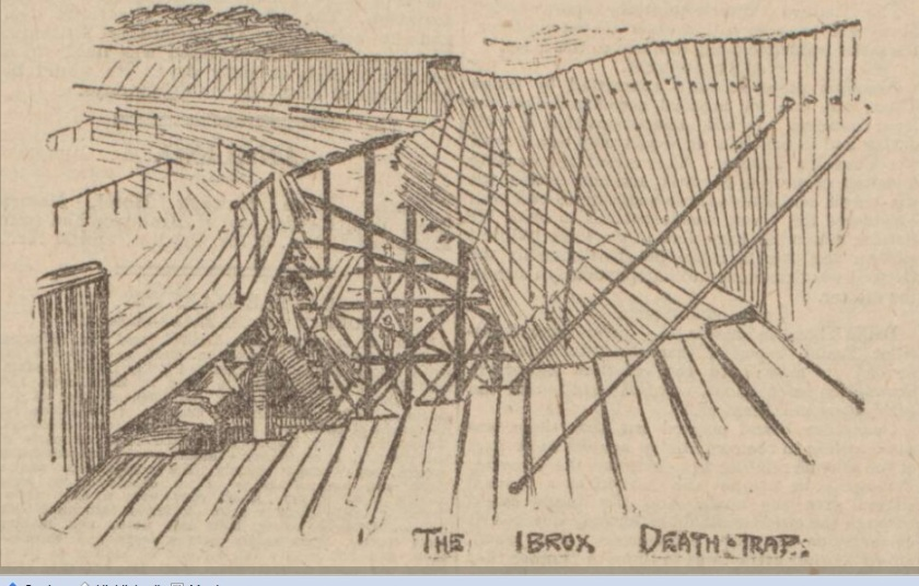 Ibrox Park 1902 Dundee Courier 8 apr