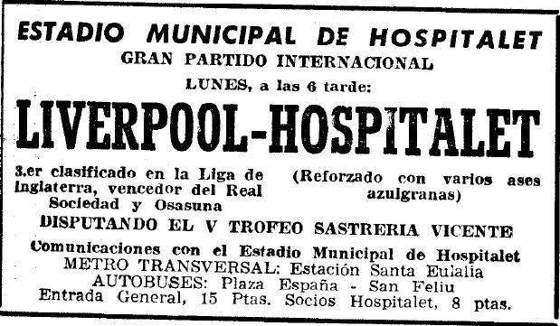 Hospitalet 1958