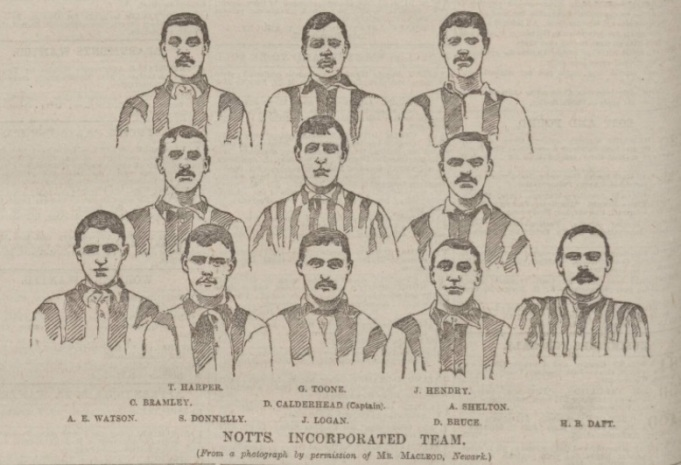 Notts County 1894 Cup final