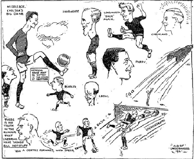 LFC Chelsea 1921 sketch