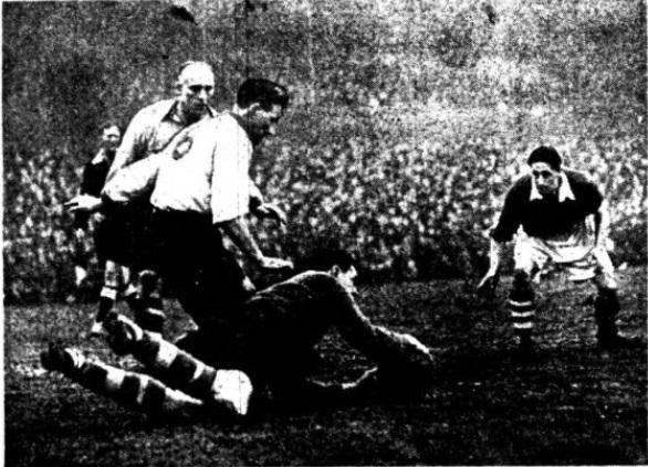 Burnley Liverpool februar 1952 I