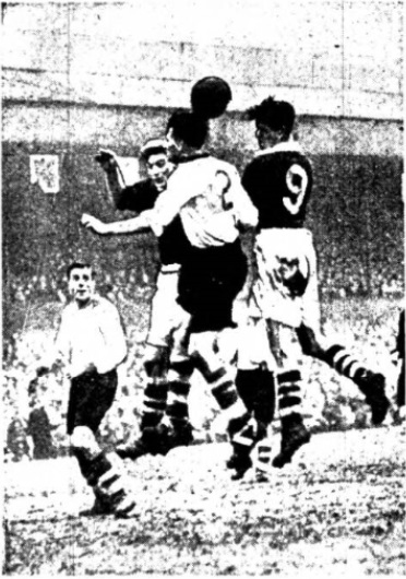 Burnley Liverpool februar 1952 II