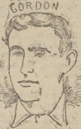 Patrick Gordon EFC Cup final 1893