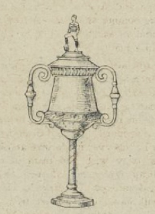 Liverpool Cup trophy 1905