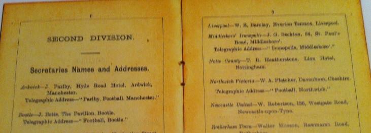 Football League Rule 1893