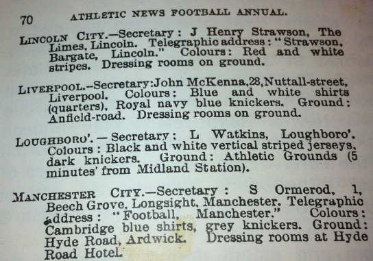Football League Rule 1895