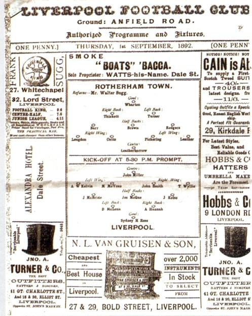 LFC match 1892
