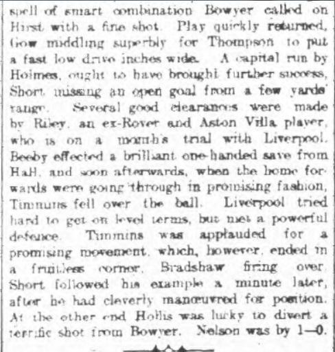 Nelson v Liverpool Reserves, 1910