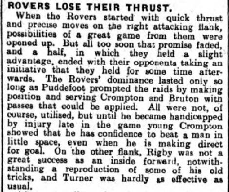 Liverpool v Blackburn Rovers, Anfield, 1929.