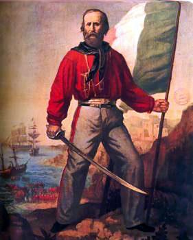 Garibaldi red shirts
