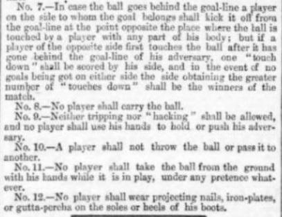 1866 Rules III