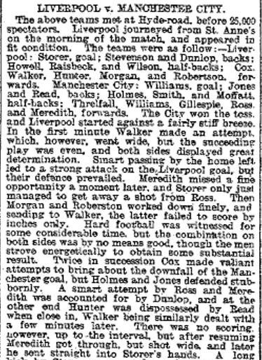 1899 Man City A I