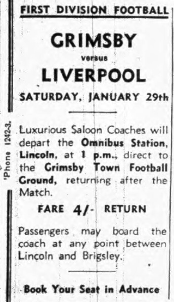 1938 ad Grimsby