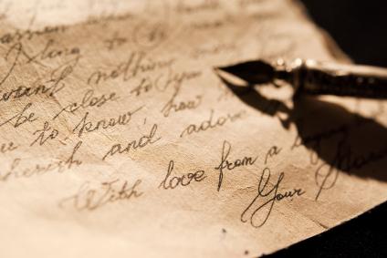 Old love letter