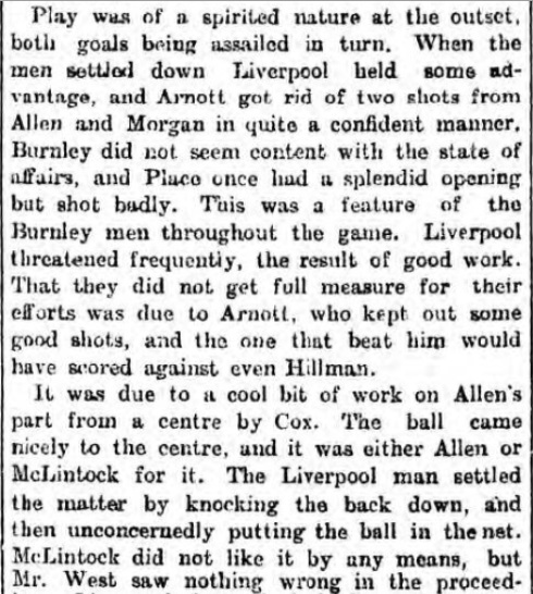 LFC v Burnley 18 Feb 1899 2