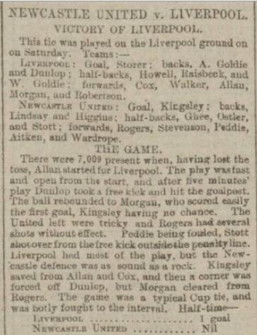 LFC v Newcastle 11 Feb 1899 1