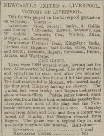 LFC v Newcastle 11 Feb 1899 1