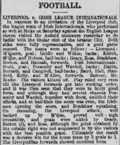 1895 Irish League