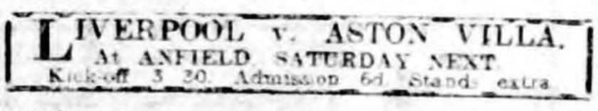 1914 ad Aston Villa