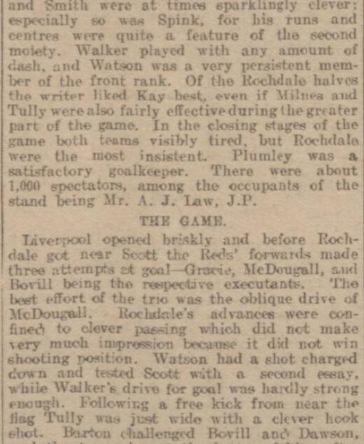 1914 Rochdale v LFC Reserves 3