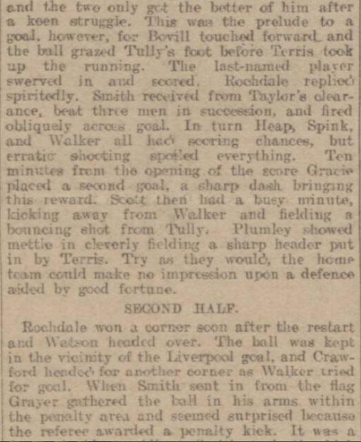 1914 Rochdale v LFC Reserves 4
