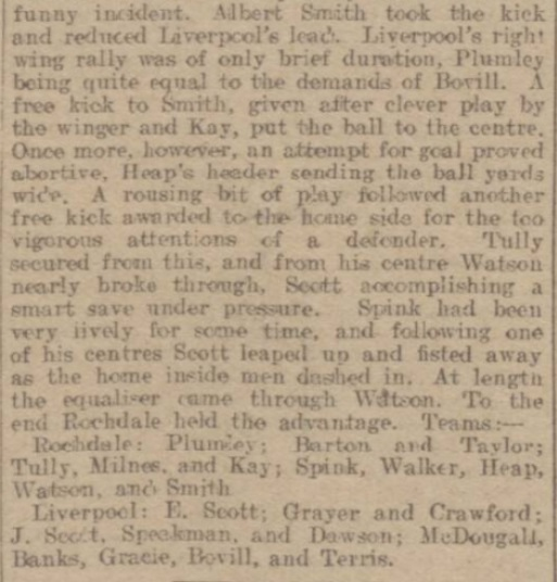 1914 Rochdale v LFC Reserves 5