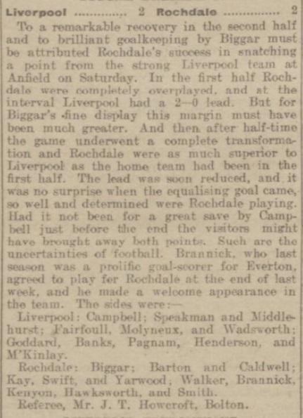1915 LFC v Rochdale 1