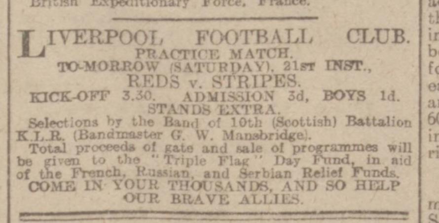 advertisement LFC 1915