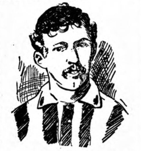 Jack Keenan Burnley 1906
