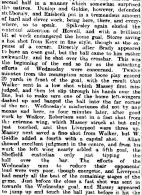 1898 LFC Wednesday 4