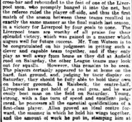 1898 LFC Wednesday 5