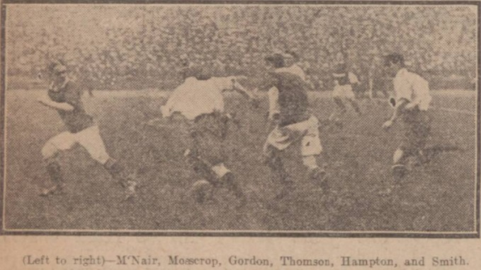 1914 Sco v Eng 2