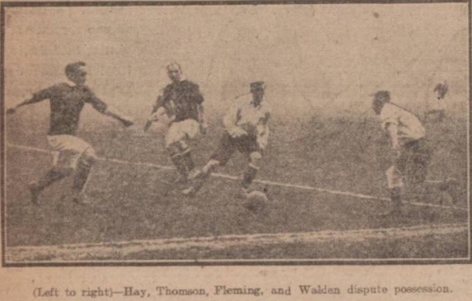 1914 Sco v Eng 5