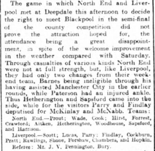 1924 PNE v LFC LaCup 2