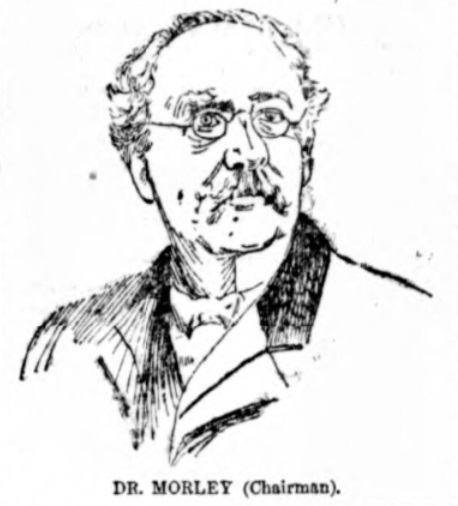 Blackburn 1890 Dr Morley