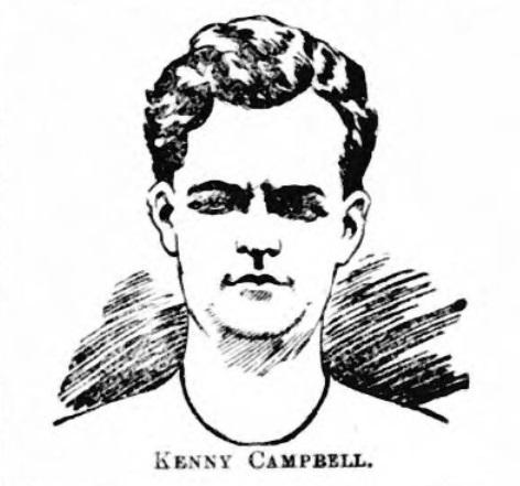 Kenneth Campbell Liverpool goalkeeper