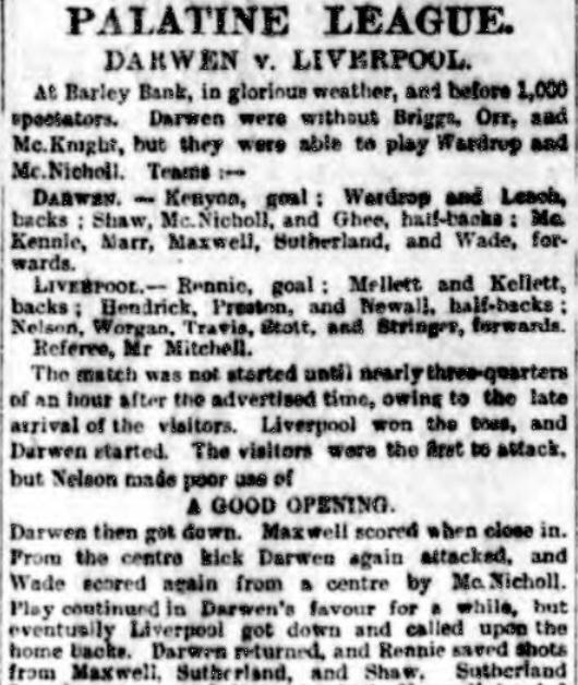 1894 Darwen v LFC 1
