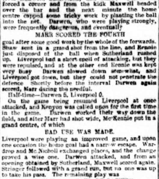 1894 Darwen v LFC 2