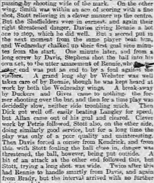 1894 SWFC v LFC 2