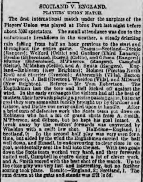 1898 Players Union