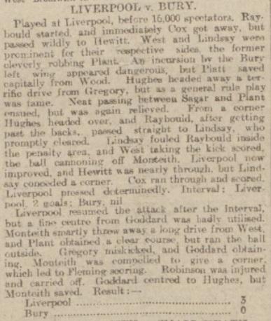 1904 LFC v bury