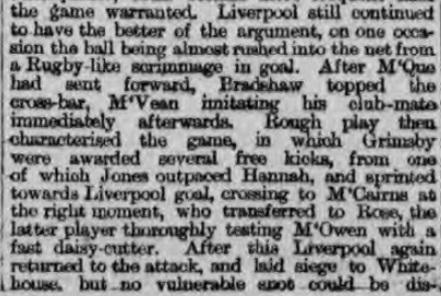 1894 LFC v Grimsby Town 2