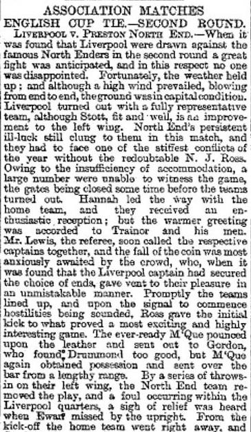 1894 LFC v PNE 1