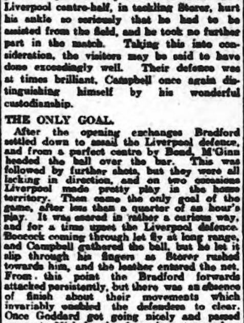 1914 Bradford City v LFC 2