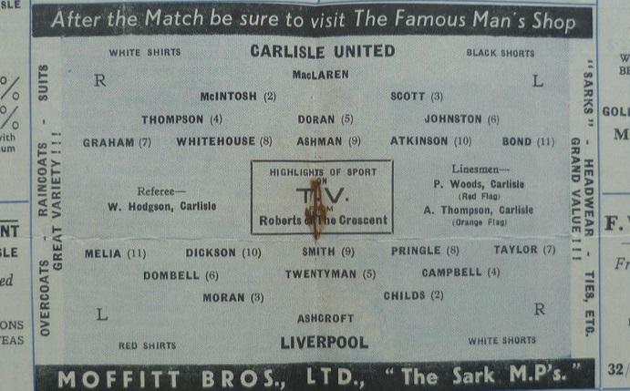 1954 Carlisle v LFC benefit