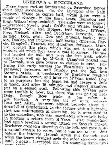 1896 Sunderland v LFC 1