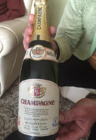 Joe West champagne