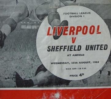 1965 LFC v Sheffield United 1