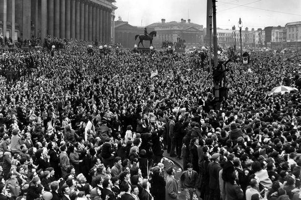 1965 Liverpool fans