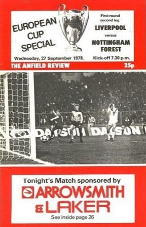 1978 LFC v NFFC Euro 8